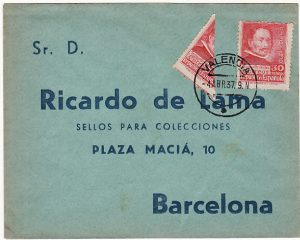 SPAIN...SPANISH CIVIL WAR BI-SECT...
