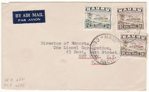 NAURU-USA [AIRMAIL-HIGH RATE]