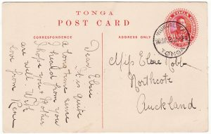 TONGA-NEW ZEALAND [PICTURE POSTCARD-SHIPPING]