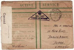 MALTA-GB...WW2-HONOUR ENVELOPE…