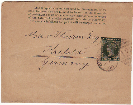 GIBRALTAR - GERMANY….1898 HAWAII CONSULATE to THAILAND CONSULATE..