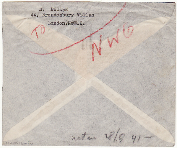 [16978]  GB - BURMA...WW2 1945 NO SERVICE RETURN TO SENDER…  1945 (Sep 25)