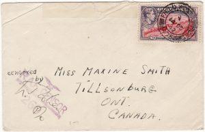 GIBRALTAR - CANADA…WW2 CANADIAN AIR FORCE…