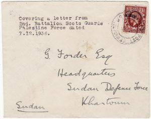 PALESTINE - SUDAN…1936 PALESTINE UPRISING …