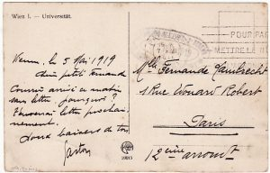 AUSTRIA-FRANCE….1919 FRENCH MILITARY MISSION to AUSTRIA…