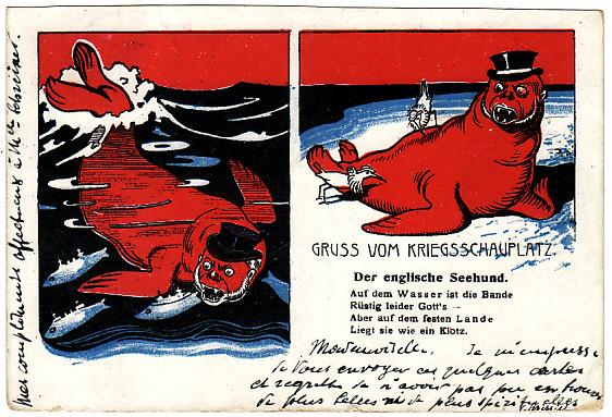 GERMANY - USA… BOER WAR ANTI BRITISH PROPAGANDA ..