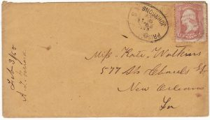 USA….CIVIL WAR POW MAIL...