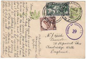 NEW ZEALAND - GB…..WW2 UPRATED STATIONARY…