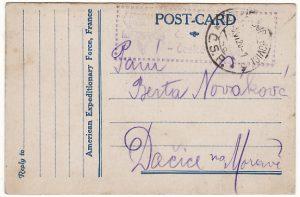 USA...A.E.F AMERICAN YMCA in CZECHOSLOVAKIA…..