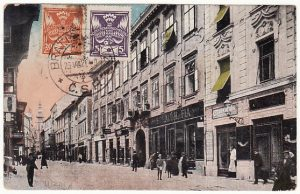 CZECHOSLOVAKIA - HUNGARY..1921 CENSORED & TAXED in TROUBLED TIMES