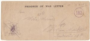 FRANCE - GERMANY…1919 POW CAMP No 30 with LETTER…