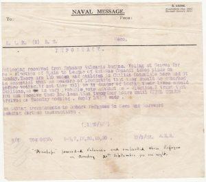 "GREAT BRITAIN… HMS ""PENELOPE"" in SPANISH CIVIL WAR taking Aboard CHILEAN REFUGEES…"