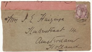 SOUTH AFRICA-HOLLAND...BOER WAR MANUSCRIPT CENSOR & TPO…