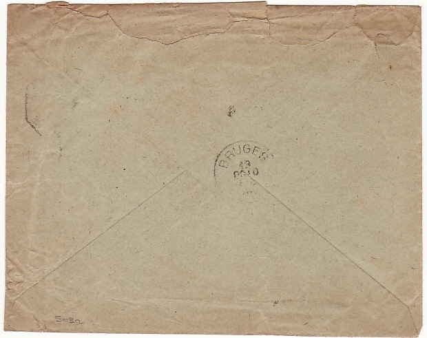 [10098]  SOUTH AFRICA-BELGIUM [BOER WAR-NATAL-CAPTURED STATIONARY]  1901(Sep 4)
