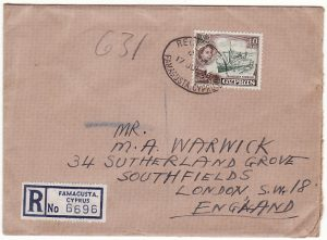CYPRUS-GB [EOKA EMERGENCY/REGISTERED/DELAYED MAIL]
