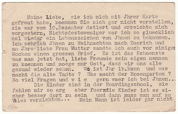 [18803]  GB - SWITZERLAND …WW2 UPRATED CENSORED STATIONARY…  1941 (Mar 6)