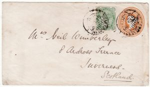 INDIA-GB…1897 MILITARY MAIL from TIRAH FIELD FORCE..