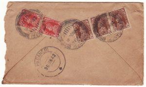 INDIA-MALAYA….WW2 SERVICE SUSPENDED to KEDAH…