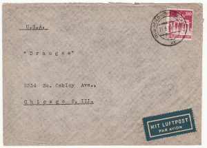 GERMANY-USA….1949 INT. REFUGEE ORGANISATION HOSPITAL..