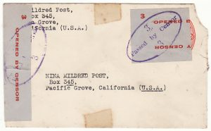 """AUSTRALIA-USA…WW2 US FORCES SANITIZED ENVELOPE..."