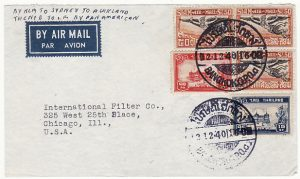 THAILAND-USA...WW2 AIRMAIL..