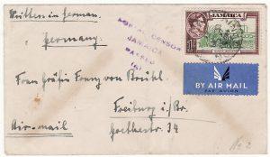 JAMAICA-GERMANY… WW2 WOMENS INTERNMENT CAMP..