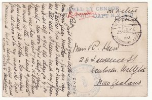 EGYPT-NZ…WW1 NEW ZEALAND FORCES from HOSPITAL..