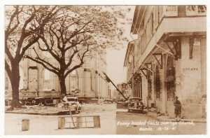 PHILIPPINE Is...WW2 JAPANESE BOMBED MANILA..