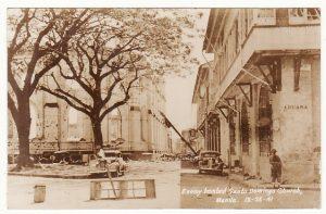 PHILIPPINE Is...WW2 JAPANESE BOMBED MANILA..