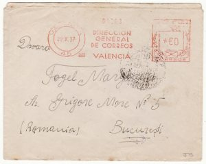 SPAIN-ROUMANIA ...SPANISH CIVIL WAR  INTERNATIONAL BRIGADE..