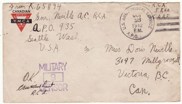 USA-CANADA..WW2 CANADIAN ARTILLERY FORCES on ANNETTE ISLAND ALASKA