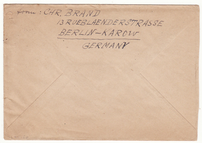 [16651]  GERMANY-USA..1948 BERLIN AIRLIFT & BLOCKADE..  1948(Sep 15)