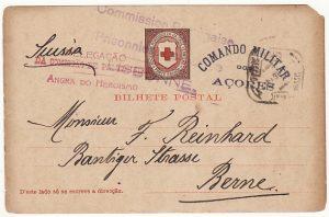 PORTUGUESE COLS-SWITZERLAND...WW1 CIVIL INTERNEE from AZORZES..