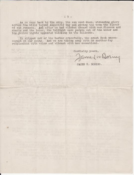 [16875]  ALGERIA-USA…1926 TAXED from SS REPUBLIC US LINES..  1926(Feb 3)