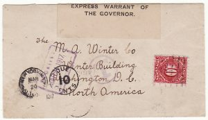 JAMAICA-USA...WW1 CENSORED & POSTAGE DUE