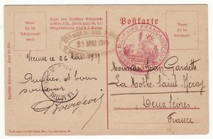 AUSTRIA-FRANCE…1919 FRENCH MILITARY MISSION to AUSTRIA