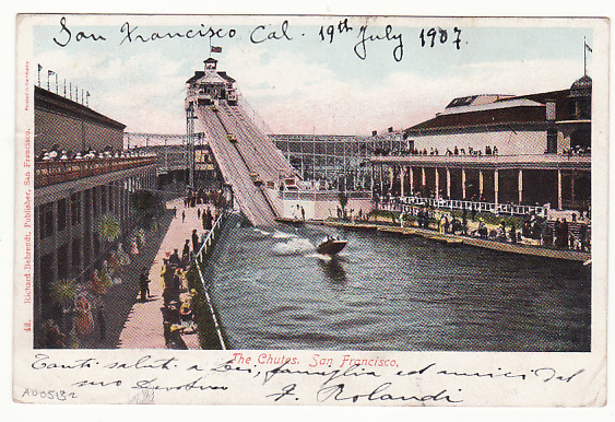 [17119]  USA-CHINA...POSTCARD to SHANGHAI via US POSTAL AGENCY SHANGHAI..  1907(Jul 18)
