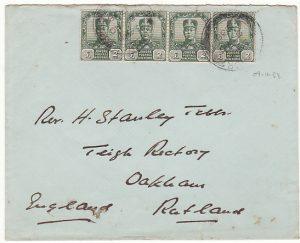 MALAYA-GB...1938 JOHORE