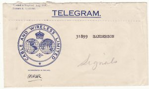 NEW ZEALAND-FIJI...WW2 CABLE & WIRELESS BIRTHDAY GREETINGS TELEGRAM...