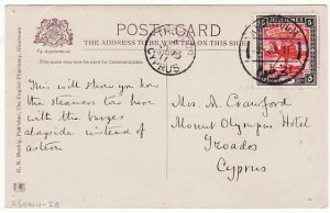 SUDAN - CYPRUS...1911 TO TROODOS ...