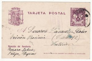 SPAIN....SPANISH CIVIL WAR PRISON MAIL....