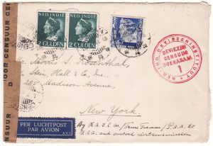 N.E.I.-USA...TRANS PACIFIC AIRMAIL...