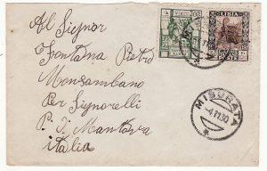 LIBYA - ITALY...ITALIAN COLONIES from MISURATA...