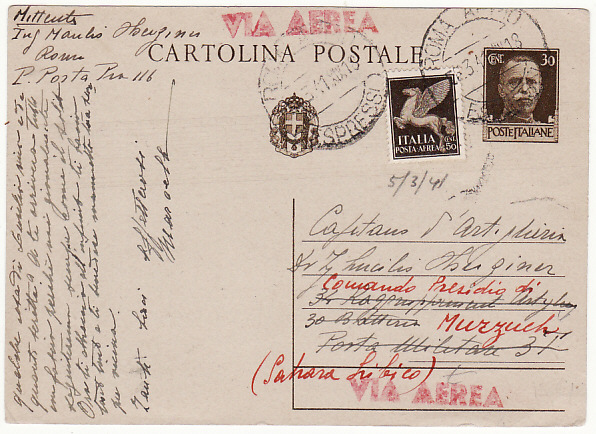 ITALY - LIBYA...WW2 ITALIAN MILITARY in the FEZZAN...