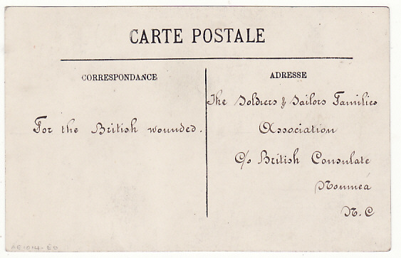 [18034]  NEW CALEDONIA …WW1 RED CROSS 5 NCE SURCHARGE USED LOCALLY…  1916 (Mar 23)