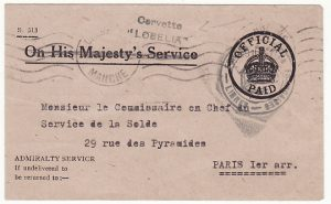 GB - FRANCE….WW2 FREE FRENCH NAVAL FORCES...