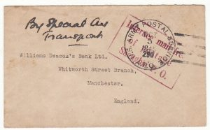 CHINA - GB…1945 INTERNEE MAIL from SHANGHAI P.O….