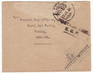 EGYPT - GB…70 SQUADRON R.A.F. ….