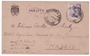 SPAIN…WW2 EX INTERNATIIONAL VOLUNTEER in SPANISH CIVIL WAR…
