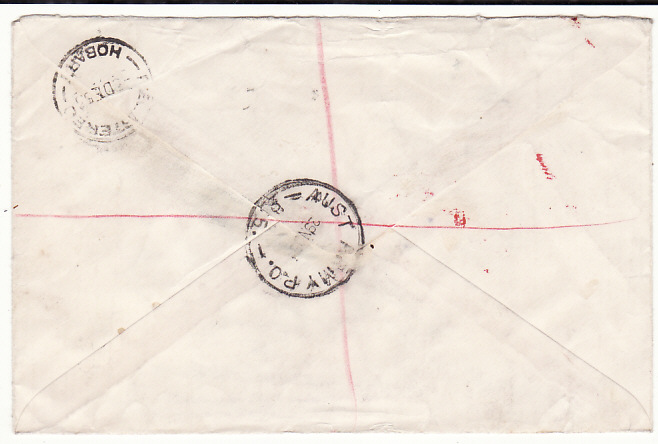 [18850]  JAPAN - AUSTRALIA…AUSTRALIAN BCOF FORCES MAIL …  1953 (Nov 29)